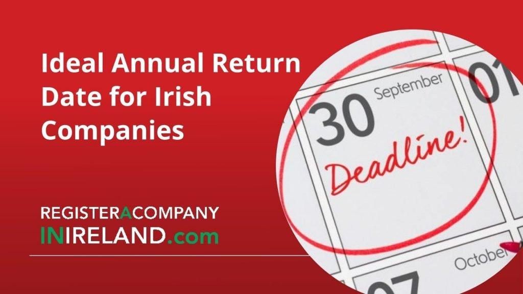 Annual Return Date for Irish Companies